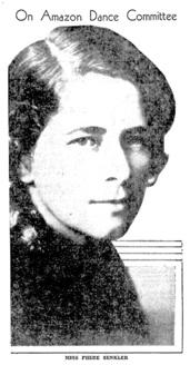 Miss Phebe Senkler, Vancouver Sun, October 26, 1933, page 8, http://news.google.com/newspapers?id=xC5lAAAAIBAJ&sjid=1YgNAAAAIBAJ&pg=1941%2C2664180 [link leads to column at left of photograph.]