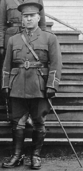 Captain T.[sic] C. McGregor, detail from City of Vancouver Archives, Mil P271 - Officers of 29th Vancouver Battalion C.E.F., 1915, http://searcharchives.vancouver.ca/officers-of-29th-vancouver-battalion-c-e-f-2.