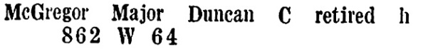 D C McGregor - Wrigley's British Columbia Directory - 1927 - page 1101