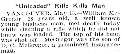 William McGregor - Los Angeles Herald - Volume 36 - Number 225 - May 14 1909, page 3; http://cdnc.ucr.edu/cgi-bin/cdnc?a=d&d=LAH19090514.2.64