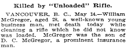 William McGregor - Morning Oregonian - Portland, Oregon - 1861-1937 - May 15 1909 - page 6
