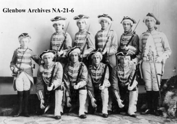 Calgary theatricals, Glenbow Archives, NA-21-6; http://ww2.glenbow.org/dbimages/arc1/b/na-21-6.jpg. (R.S. Chipman is on the far right of the kneeling group.)