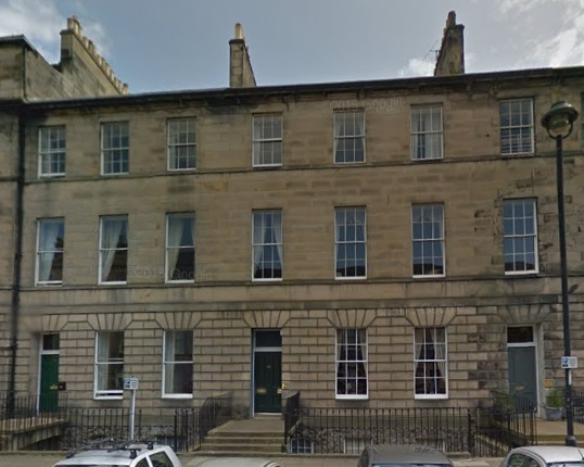 53 Great King Street, Edinburgh, Google Streets: searched March 9, 2015.