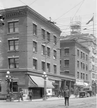 Granville Mansions, about 1913, https://www.flickr.com/photos/45379817@N08/8418152882/