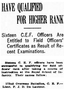 ave Qualified for Higher Rank - [excerpts], Victoria Daily Colonist - September 9 1916 - page 5; https://archive.org/stream/dailycolonist58y234uvic#page/n4/mode/1up