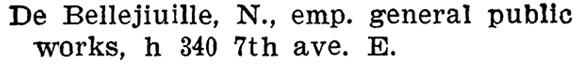 Napoleon de Bellefeuille - Henderson's BC Gazetteer and Directory - 1902 - page 642