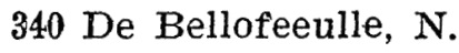 Napoleon de Bellefeuille - Seventh Avenue, East, Henderson's BC Gazetteer and Directory - 1902 - page 582
