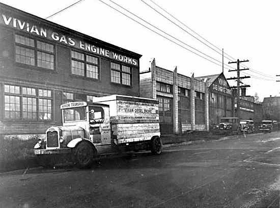 Vivian Gas Engine Works, 1090 W. 6th Ave., 1936, Vancouver Public Library, VPL Accession Number: 10654, http://www3.vpl.ca/spePhotos/LeonardFrankCollection/02DisplayJPGs/15/10654.jpg