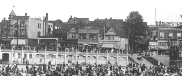 1200 Block Denman Street - detail from Bathing beach - English Bay - City of Vancouver Archives - CVA 677-96; about 1920; http://searcharchives.vancouver.ca/bathing-beach-english-bay-vancouver-b-c-showing-small-boat-dock