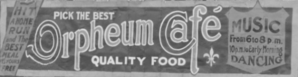 Orpheum Café, detail from City of Vancouver Archives, CVA 99-5194 - Tacoma Baseball Team, sign advertising, http://searcharchives.vancouver.ca/tacoma-baseball-team