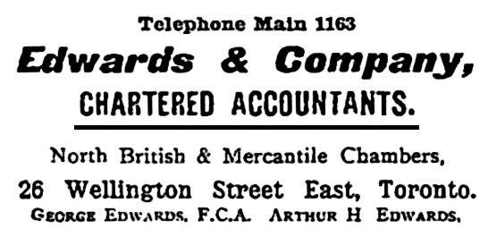 Edwards and Company, Monetary Times - Apr 24, 1903, page 1436, https://news.google.com/newspapers?id=W1gjAAAAIBAJ&sjid=BzkDAAAAIBAJ&pg=6659%2C2371636