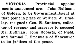 British Columbia Record, December 17, 1917, page 4, column 2, http://historicalnewspapers.library.ubc.ca/view/collection/bcrecord/date/1917-12-17#4!emanuels