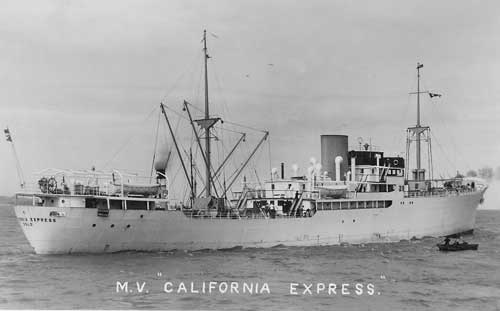 M.V. California Express, http://www.warsailors.com/singleships/californiaexpress.html