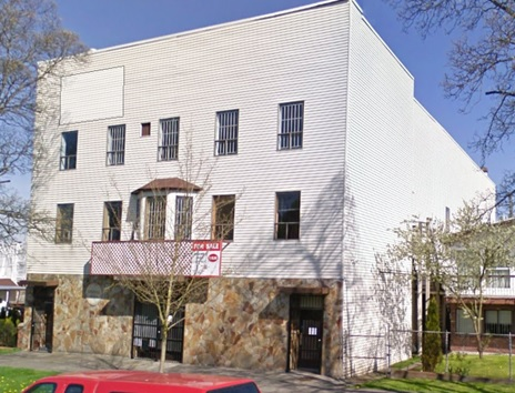 Finnish Hall, 2215 East Pender Street, Google Streets; searched July 26, 2015; image dated April 2009.
