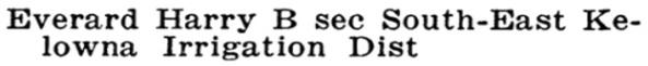 Wrigley's British Columbia Directory, 1922, page 319 (Kelowna)