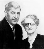 Howard Fisher Dack and Anna Fordella Knauss [undated]; Ancestry.com