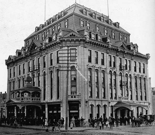 Historic Sites of Manitoba: Leland Hotel (218 William Avenue, Winnipeg), about 1903, http://www.mhs.mb.ca/docs/sites/lelandhotel.shtml