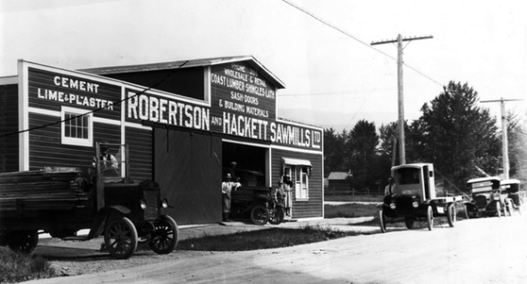 Robertson and Hackett Sawmills Ltd. wholesale and retail store, Vancouver City Archives, AM1376-: CVA 1376-42, http://searcharchives.vancouver.ca/robertson-and-hackett-sawmills-ltd-wholesale-and-retail-store