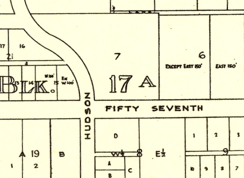 Vancouver City Archives, MAP 779.44 - [Sheet U : Churchill Street to Cambie Street and Forty-ninth Avenue to Park Drive], http://searcharchives.vancouver.ca/index.php/sheet-u-churchill-street-to-cambie-street-and-forty-ninth-avenue-to-park-drive-2 : [detail: street names inserted for clarity]