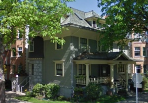 1119 Broughton Street (Fee house, 1904): Google Streets, searched August 6, 2015, image dated April 2009.