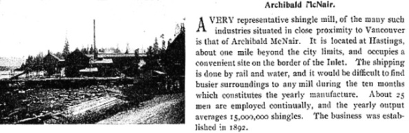 Archibald McNair - The Queen City of Vancouver Wonderful West - 1898 - page 50