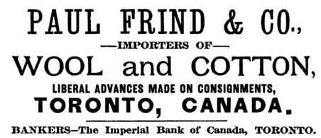 Canada: A Memorial Volume, by George Johnson, Charles Henry Lugrin, Honoré Mercier; Montreal, E. B. Biggar, 1889, page 42; https://books.google.ca/books?id=DpcdAAAAMAAJ&pg=PR41&lpg=PR41&dq=%22paul+frind%22&source=bl&ots=ANQkeEGT-D&sig=wsIRy5bWLTJeWAafxgKXbqpmcEo&hl=en&sa=X&ved=0CD0Q6AEwCGoVChMIsJCC4LWsxwIVT0GICh35tQCY#v=onepage&q&f=false