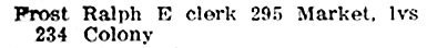 Henderson Directories, Winnipeg, 1905, page 568; http://peel.library.ualberta.ca/bibliography/921.3.6/467.html
