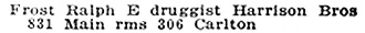 Henderson Directories, Winnipeg, 1906, page 489; http://peel.library.ualberta.ca/bibliography/921.3.7/443.html