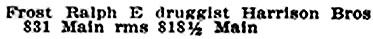 Henderson Directory, Winnipeg, 1907, page 576, http://peel.library.ualberta.ca/bibliography/921.3.8/560.html