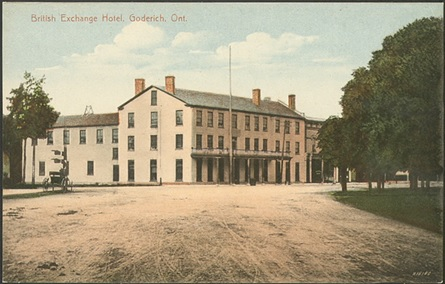 British Exchange Hotel, postcard, Toronto Public Library [probably early 1900s]; http://static.torontopubliclibrary.ca/da/images/LC/pcr-575.jpg