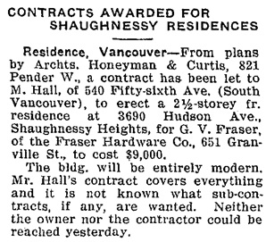 Daily Building Record, August 6, 1914, page 1, http://historicalnewspapers.library.ubc.ca/view/collection/dbr/item/1682#1