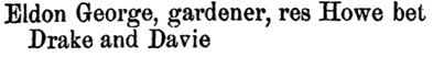Henderson's BC Gazetteer and Directory, 1889, page 375 [In the 1890 directory, his address was 1045 Howe Street.]