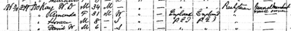 """Canada Census, 1891,"" database, FamilySearch (https://familysearch.org/ark:/61903/1:1:MWG1-BK7 : accessed 19 September 2015), W D Mckay, Charlottetown Royalty, Queens, Prince Edward Island, Canada; Public Archives, Ottawa, Ontario; Library and Archives Canada film number 30953_148185; http://data2.collectionscanada.gc.ca/1891/pdf/30953_148185-00631.pdf"