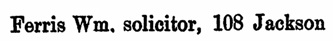 Williams' BC Directory, 1889, page 458.