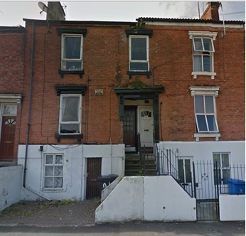 21 Macklin Street, Derby (left side); Google Streets, searched October 19, 2015 (image dated June 2015).