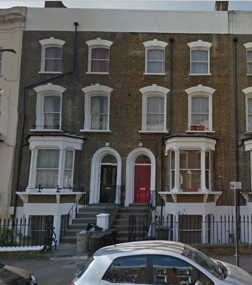 5 and 7 Pyrland Road, London, Google Streets, searched October 10, 2015.