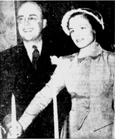 """Alderman's Daughter Weds,"" Ottawa Citizen, May 8, 1948, page 8; https://news.google.com/newspapers?id=xg4vAAAAIBAJ&sjid=KtwFAAAAIBAJ&pg=4562%2C2099125: ""Mr. and Mrs. Reginald Blair Nickson, following their wedding at Christ Church Cathedral. The bride is the former Jessie May Shaw, daughter of Alderman and Mrs. J. Grant Shaw, and the bridegroom is the son of Mrs. C.V. Cummings of Montreal."""
