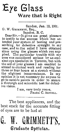Mining Review, February 2, 1901, page 8, http://historicalnewspapers.library.ubc.ca/view/collection/miningrev/date/1901-02-02#8