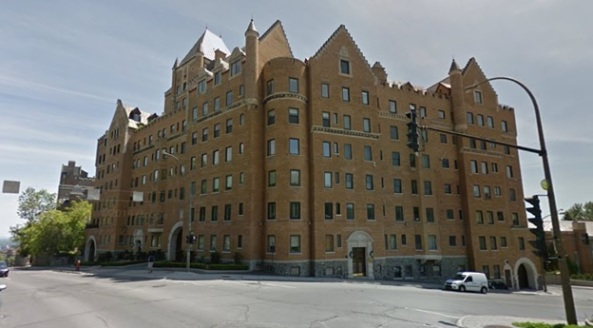 Gleneagles Apartments, Montreal, Google Streets, searched October 24, 2015; image dated June 2015.