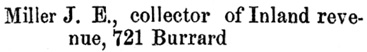 Henderson's BC Gazetteer and Directory, 1891, page 444 (Vancouver)