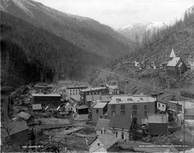 Sandon, B.C., 1890s, City of Vancouver Archives, CVA 2 – 33; http://searcharchives.vancouver.ca/index.php/sandon-b-c-3