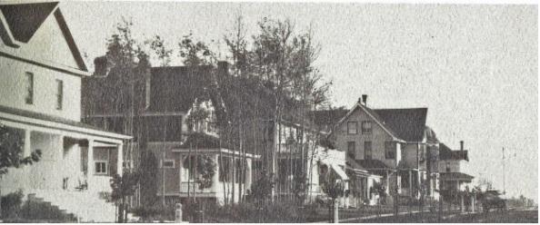 Victoria Avenue (after 1914 called 100th Avenue); Edmonton, Alberta; Edmonton's Lost Heritage, Edmonton Historical board, 1982, page 29.