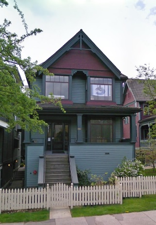 1160 Comox Street, Google Streets, searched November 26, 2015, image dated April 2009.