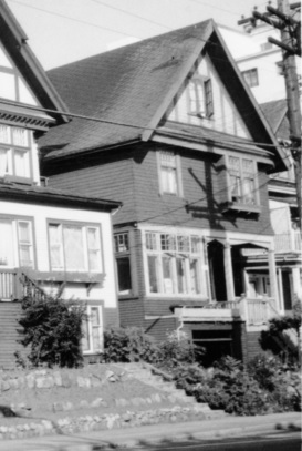 1997 Beach Avenue; A remaining house on Beach Ave., Vancouver; University of Northern British Columbia Archives; Item 2013.6.36.1.072.15; http://search.nbca.unbc.ca/index.php/remaining-house-on-beach-ave-vancouver.