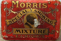 Old E.A. Morris Tobacco Tin, Vancouver B.C. Tobacconist; https://www.pinterest.com/pin/143693044336554173/ [Searched November 29, 2015]
