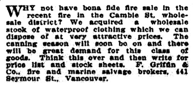 Victoria Daily Colonist, May 13, 1914, page 15; http://archive.org/stream/dailycolonist56y130uvic#page/n13/mode/1up
