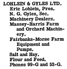 British Columbia and Yukon Directory, 1947, page 190 (Osoyoos)