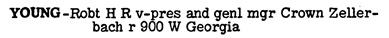 Vancouver and New Westminster City Directory, 1955, page 856 [edited image].