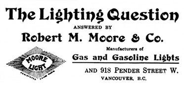 Robert M. Moore and Company, Who Makes What in British Columbia; Vancouver; Manufacturers Association of British Columbia, 1914, page 46; https://archive.org/stream/cihm_990098#page/n53/mode/1up