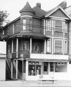 [Exterior of A.J. McBain Co. Ltd. - 1968 West Georgia Street], October 1958, Vancouver City Archives, Bu P508.36, http://searcharchives.vancouver.ca/exterior-of-j-mcbain-co-ltd-1968-west-georgia-street-2.